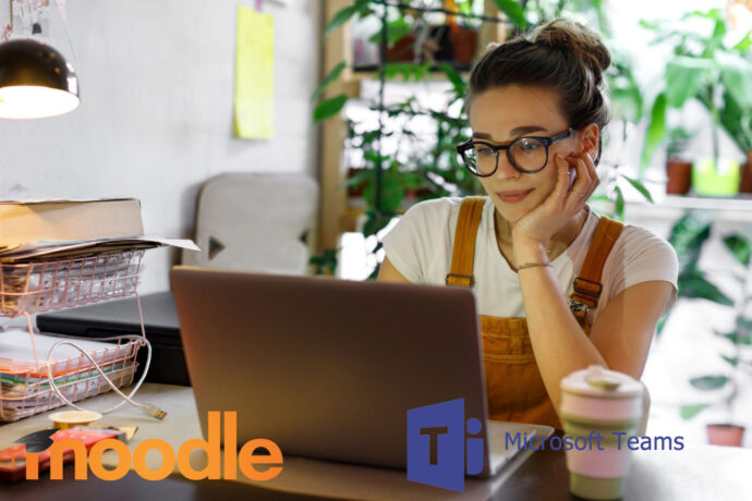 Moodle i Teams forbedrer online læringsoplevelsen